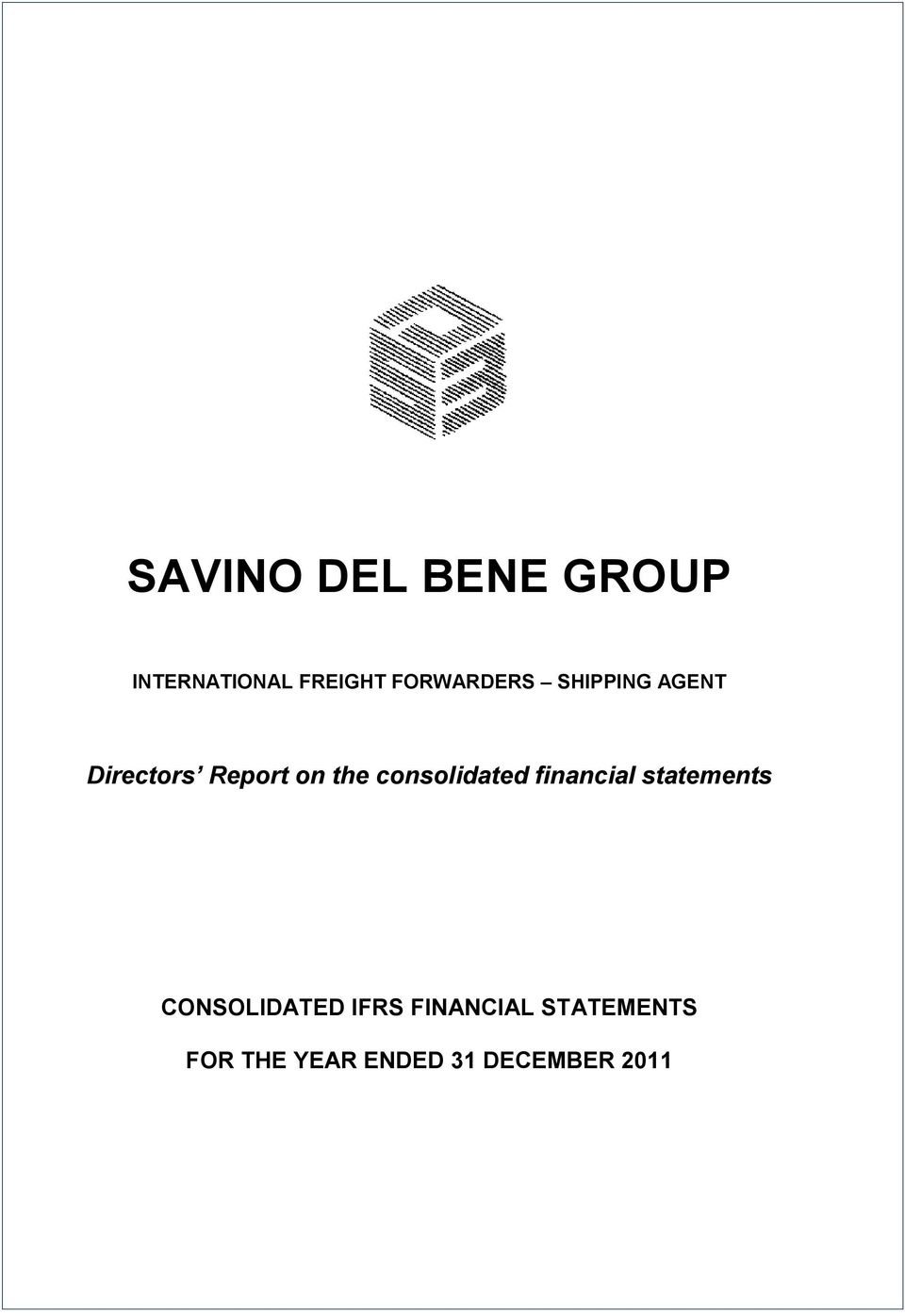consolidated financial statements CONSOLIDATED