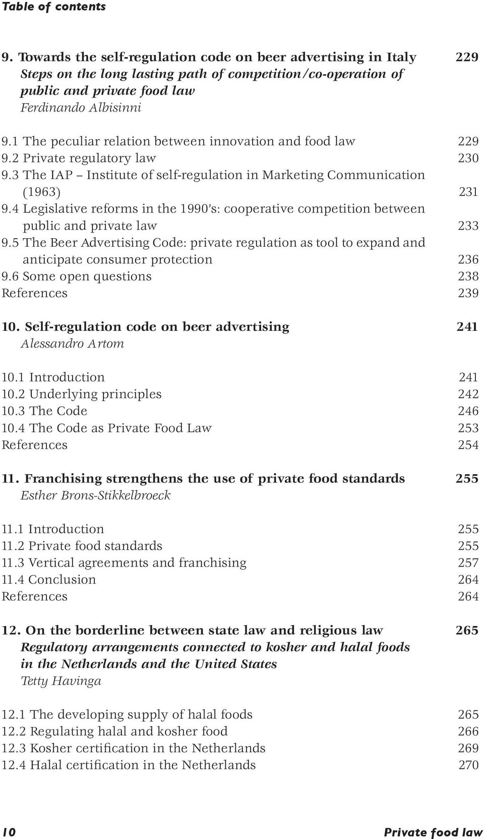 4 Legislative reforms in the 1990 s: cooperative competition between public and private law 233 9.