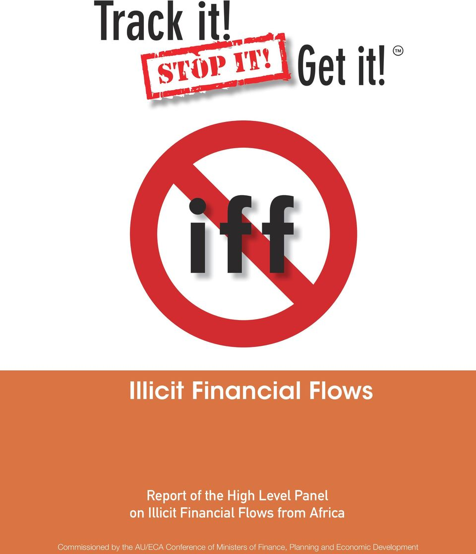 Level Panel on Illicit Financial Flows from Africa