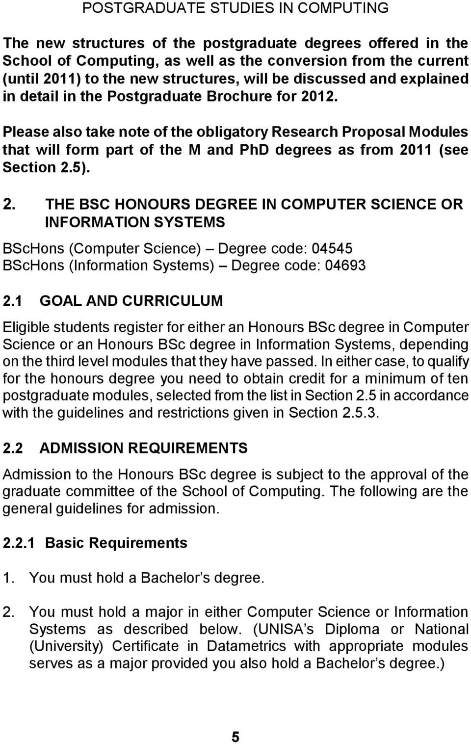 good thesis proposal computer science