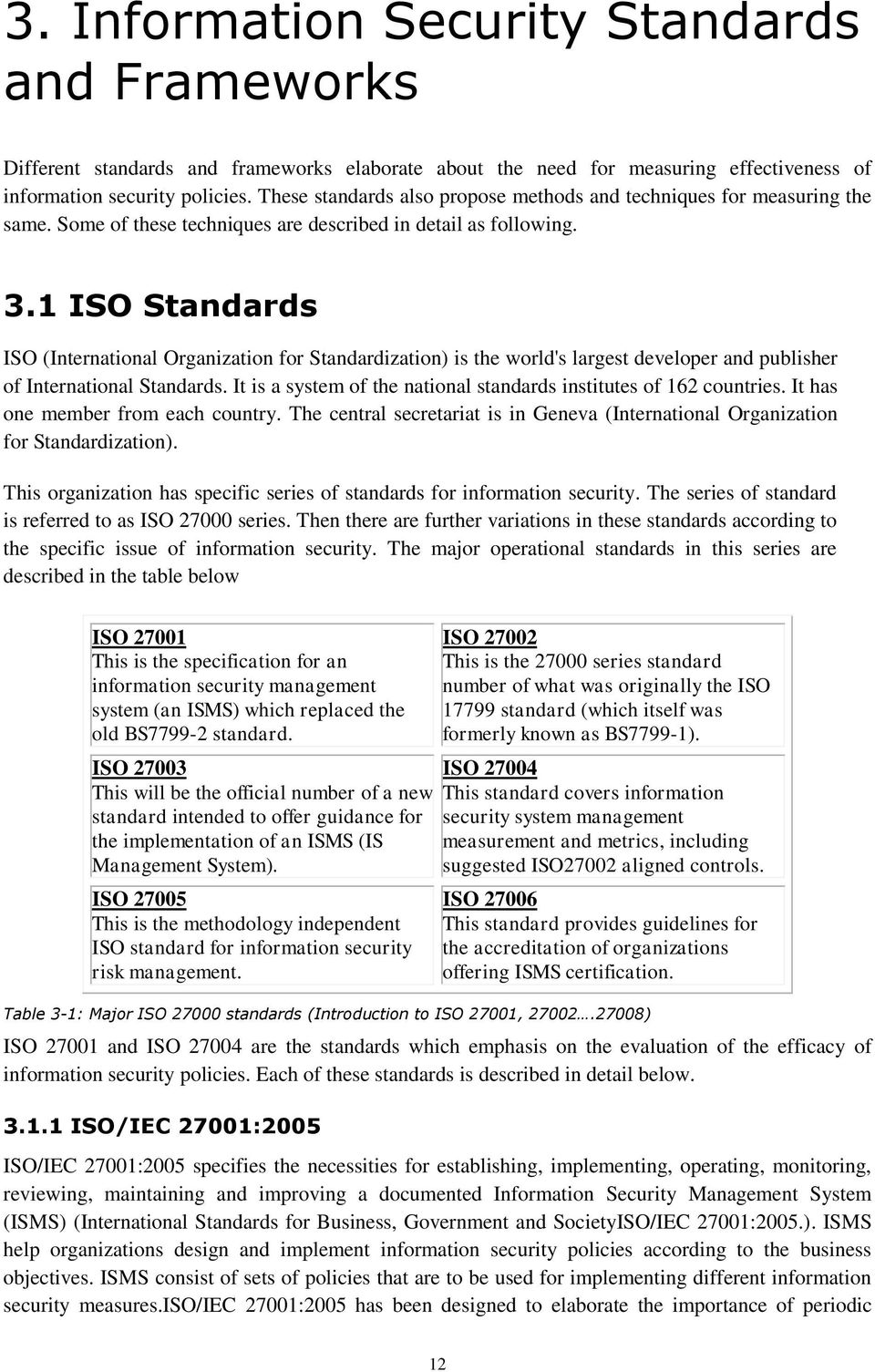 1 ISO Standards ISO (International Organization for Standardization) is the world's largest developer and publisher of International Standards.