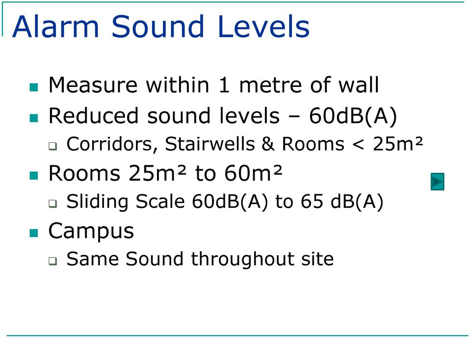 & Rooms < 25m² Rooms 25m² to 60m² Sliding Scale
