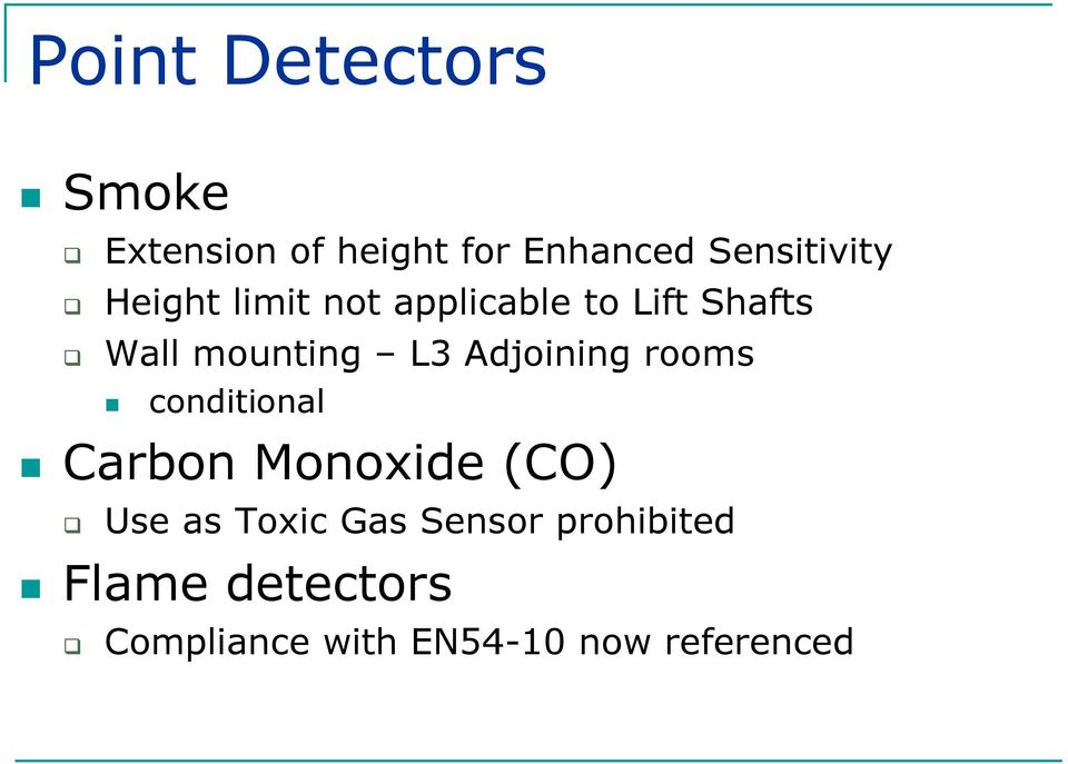 Adjoining rooms conditional Carbon Monoxide (CO) Use as Toxic Gas