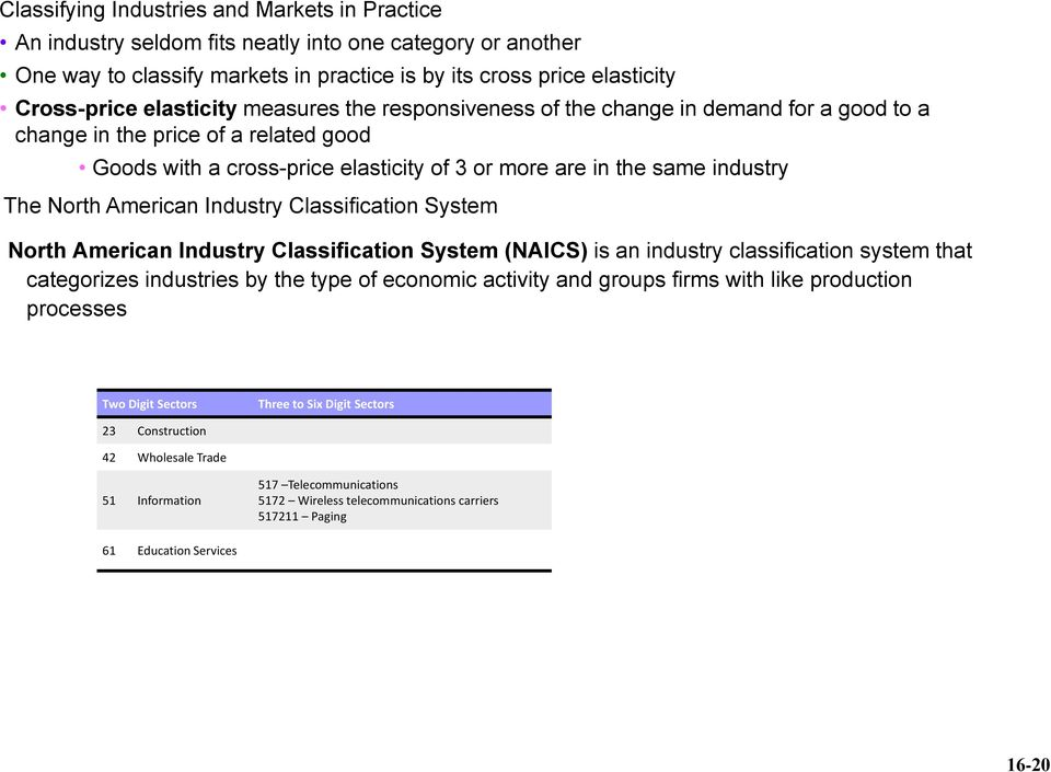North American Industry Classification System North American Industry Classification System (NAICS) is an industry classification system that categorizes industries by the type of economic activity
