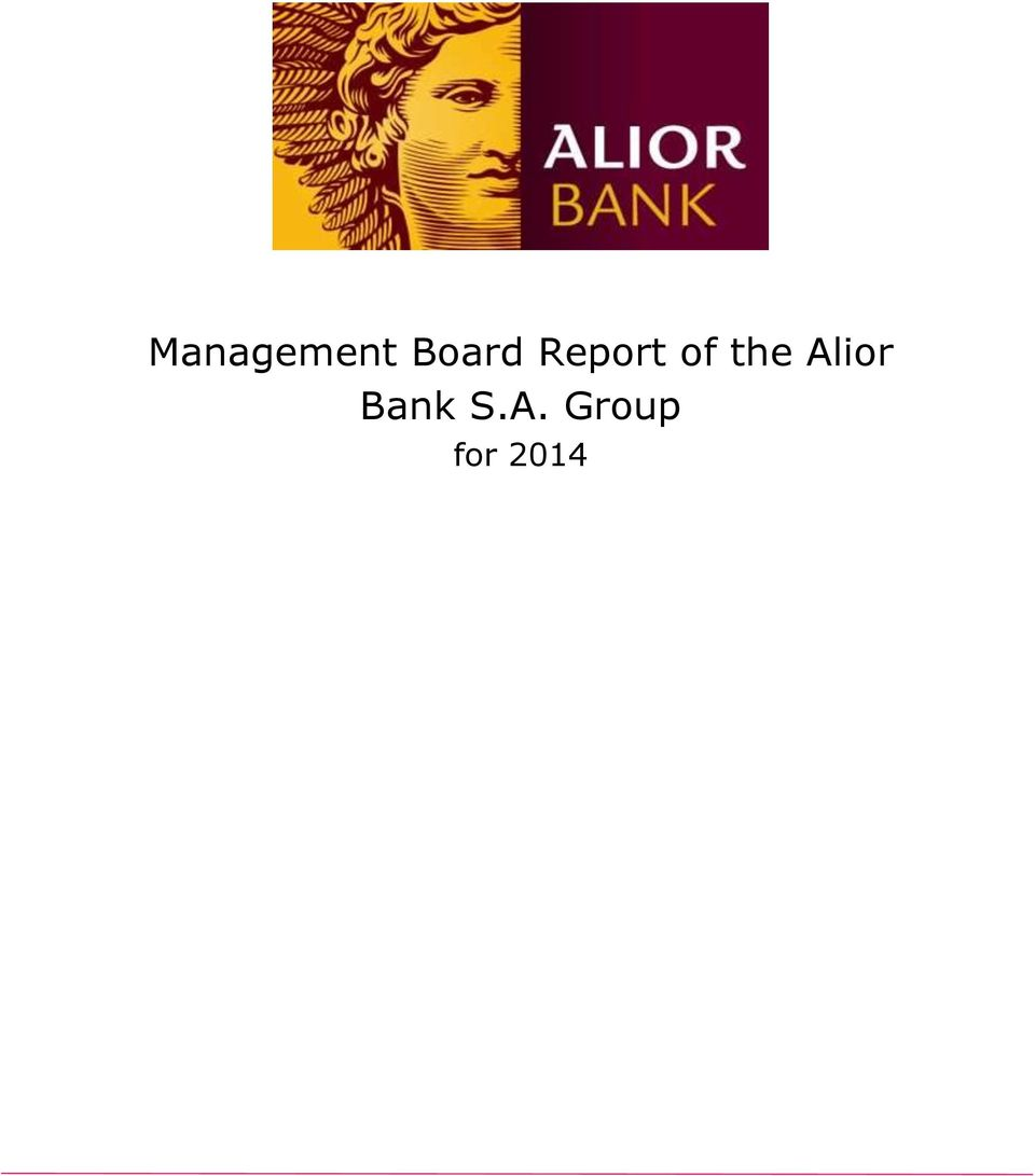 the Alior Bank