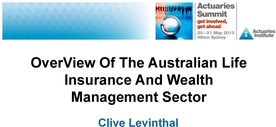 Insurance And Wealth