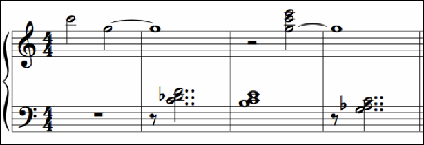 The piano music of Bill Evans contains numerous examples of this scrunch 4/2 chord.