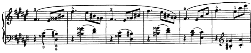41, as seen in Figure 49, the score indicates Medium Swing over a mix of dotted eighths and triplet figures.
