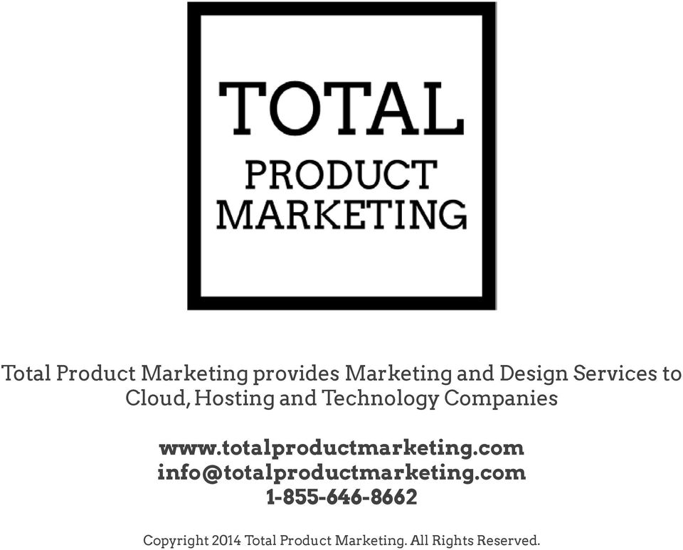 totalproductmarketing.com info@totalproductmarketing.
