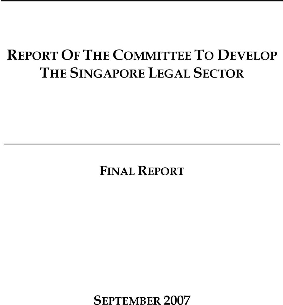 THE SINGAPORE LEGAL