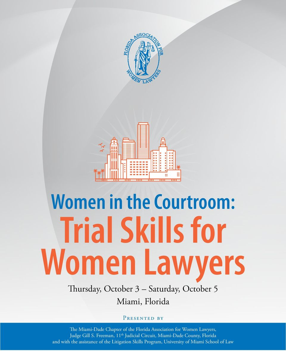 for Women Lawyers, Judge Gill S.