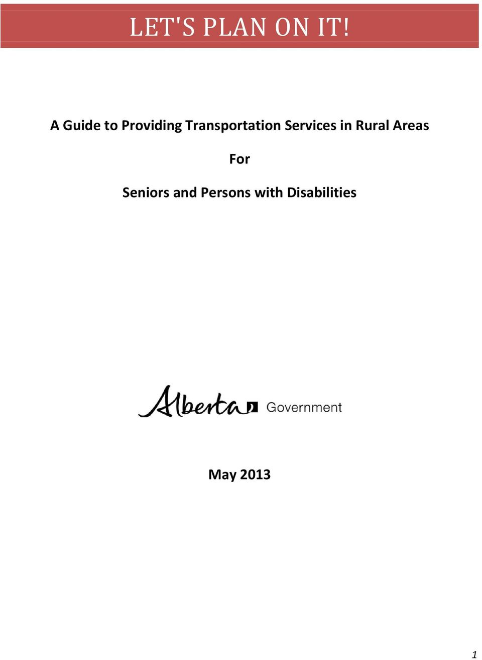 Transportation Services in Rural