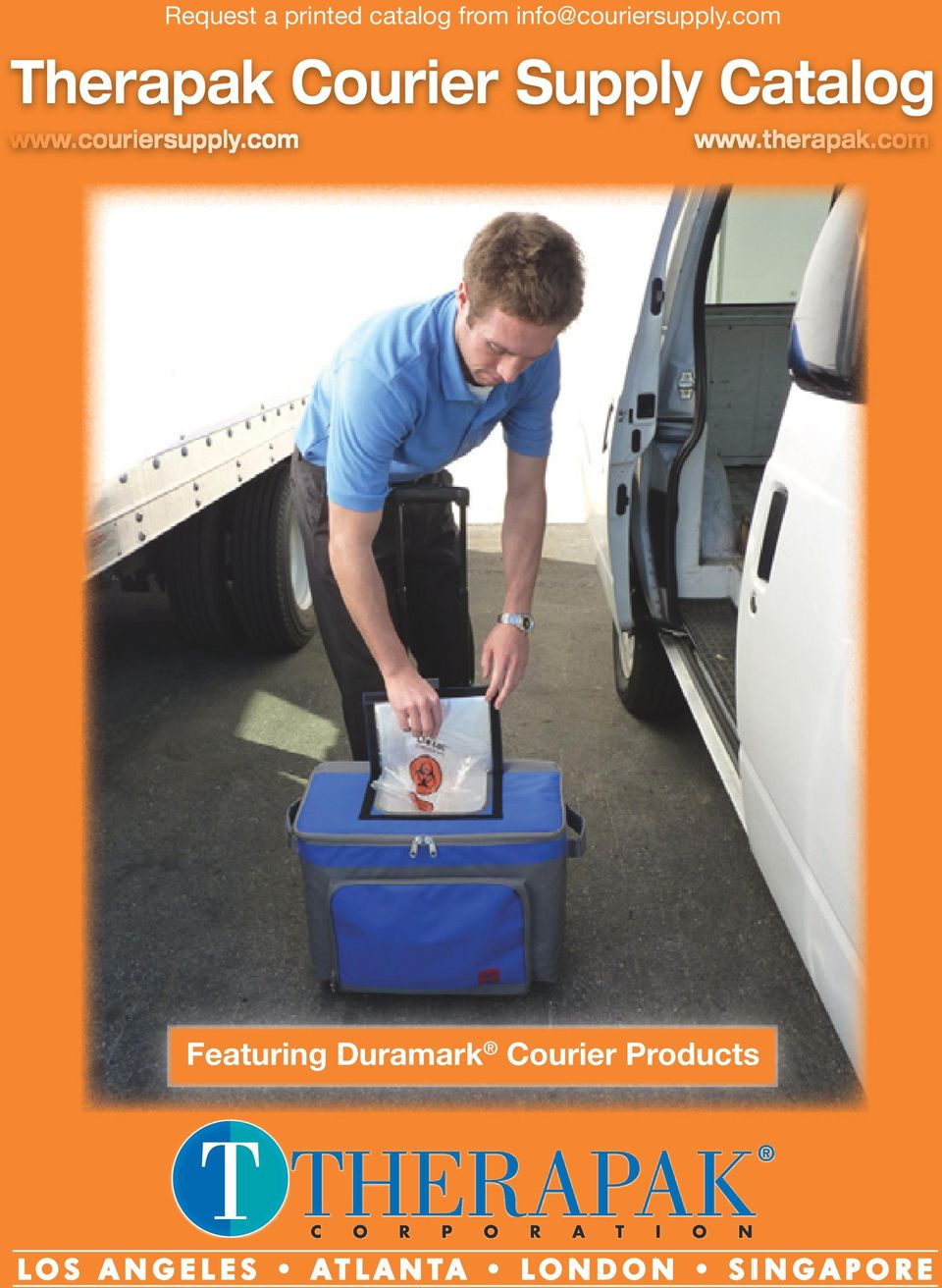 com Therapak Courier Supply Catalog www.