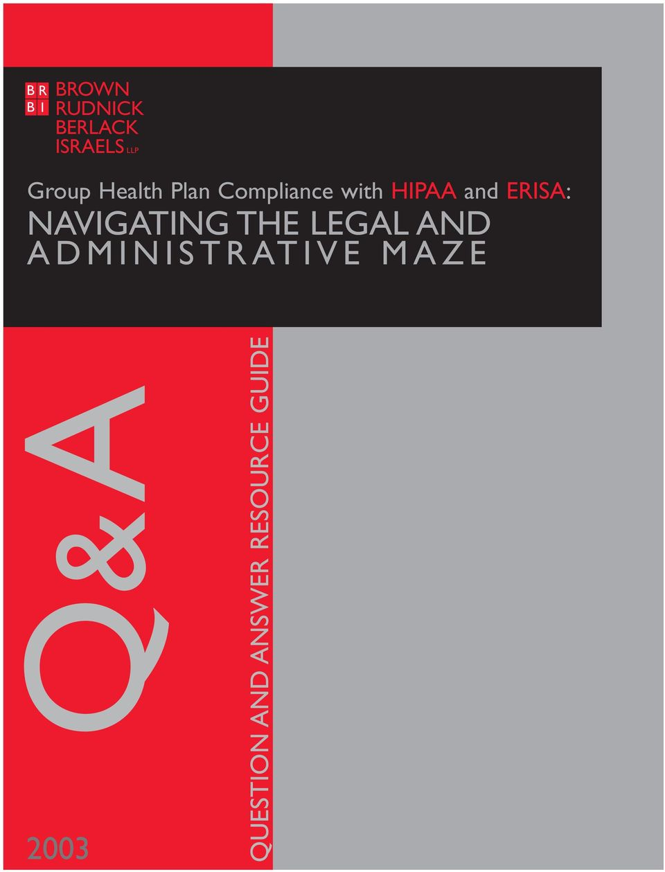 ERISA: NAVIGATING THE LEGAL AND