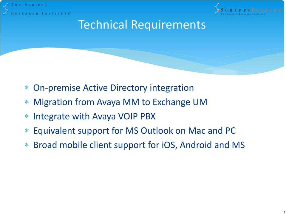 Active directory proposal