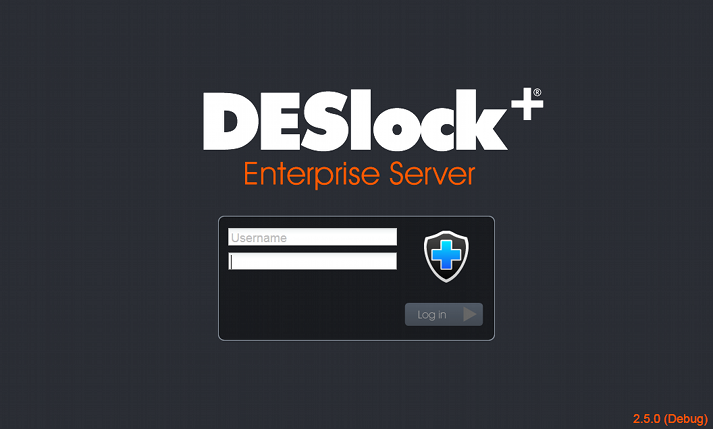 18 DESlock+ Enterprise Server Manual First Use Once you are logged into the Enterprise Server you will need to familiarise yourself with the interface, set up the workstation and group policy, define