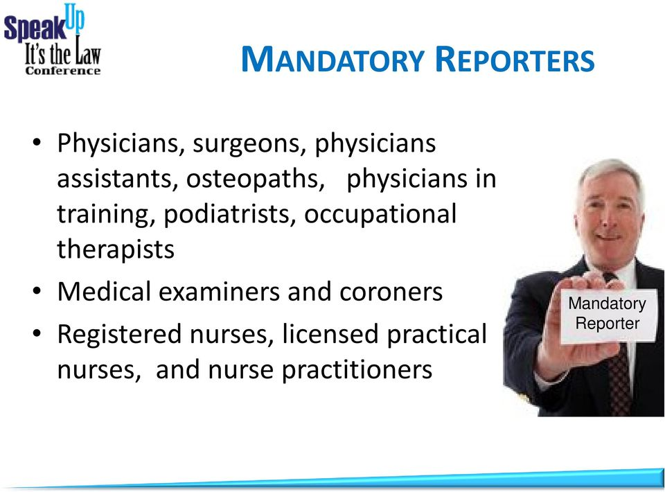 therapists Medical examiners and coroners Registered nurses,