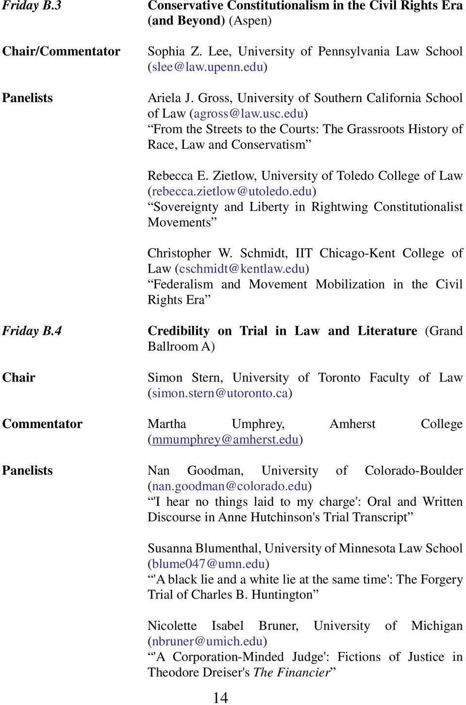 Zietlow, University of Toledo College of Law (rebecca.zietlow@utoledo.edu) Sovereignty and Liberty in Rightwing Constitutionalist Movements Christopher W.