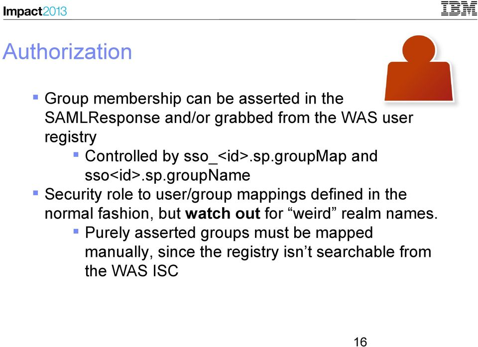 groupmap and sso<id>.sp.