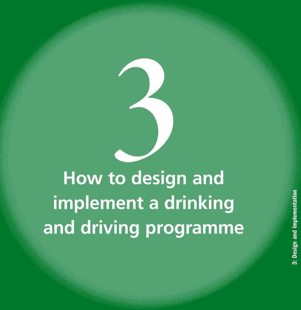 and driving programme