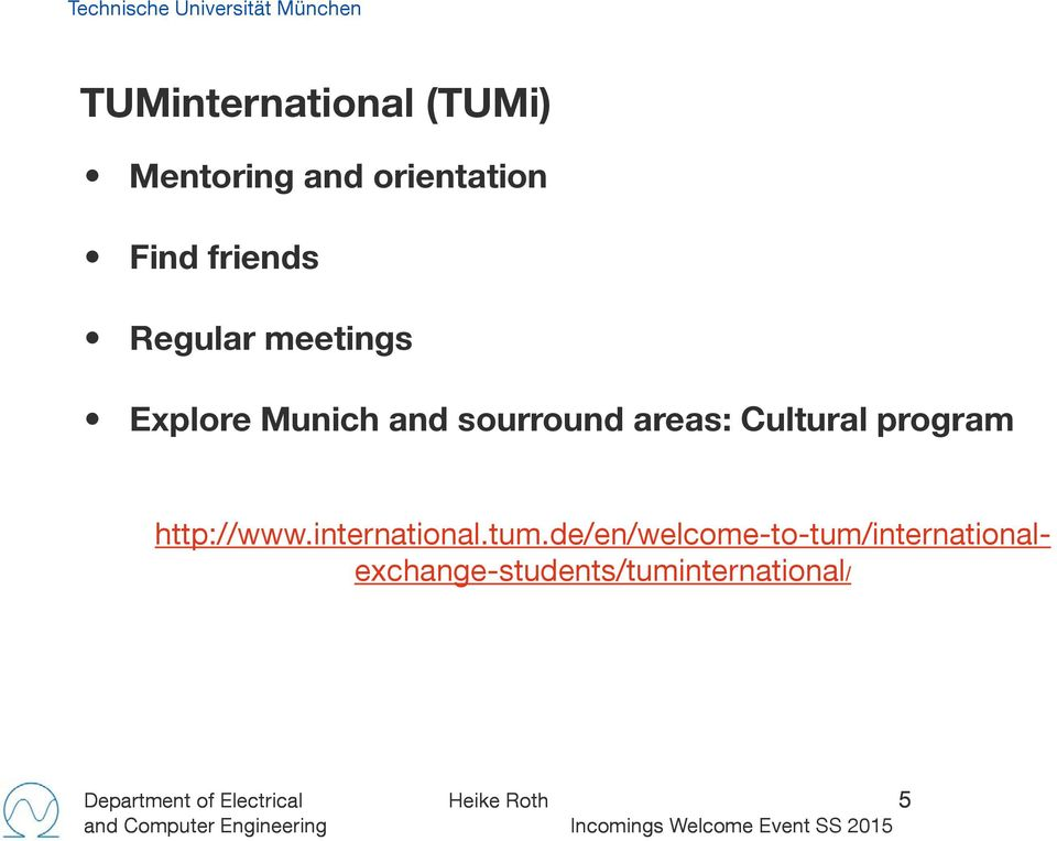 program http://www.international.tum.