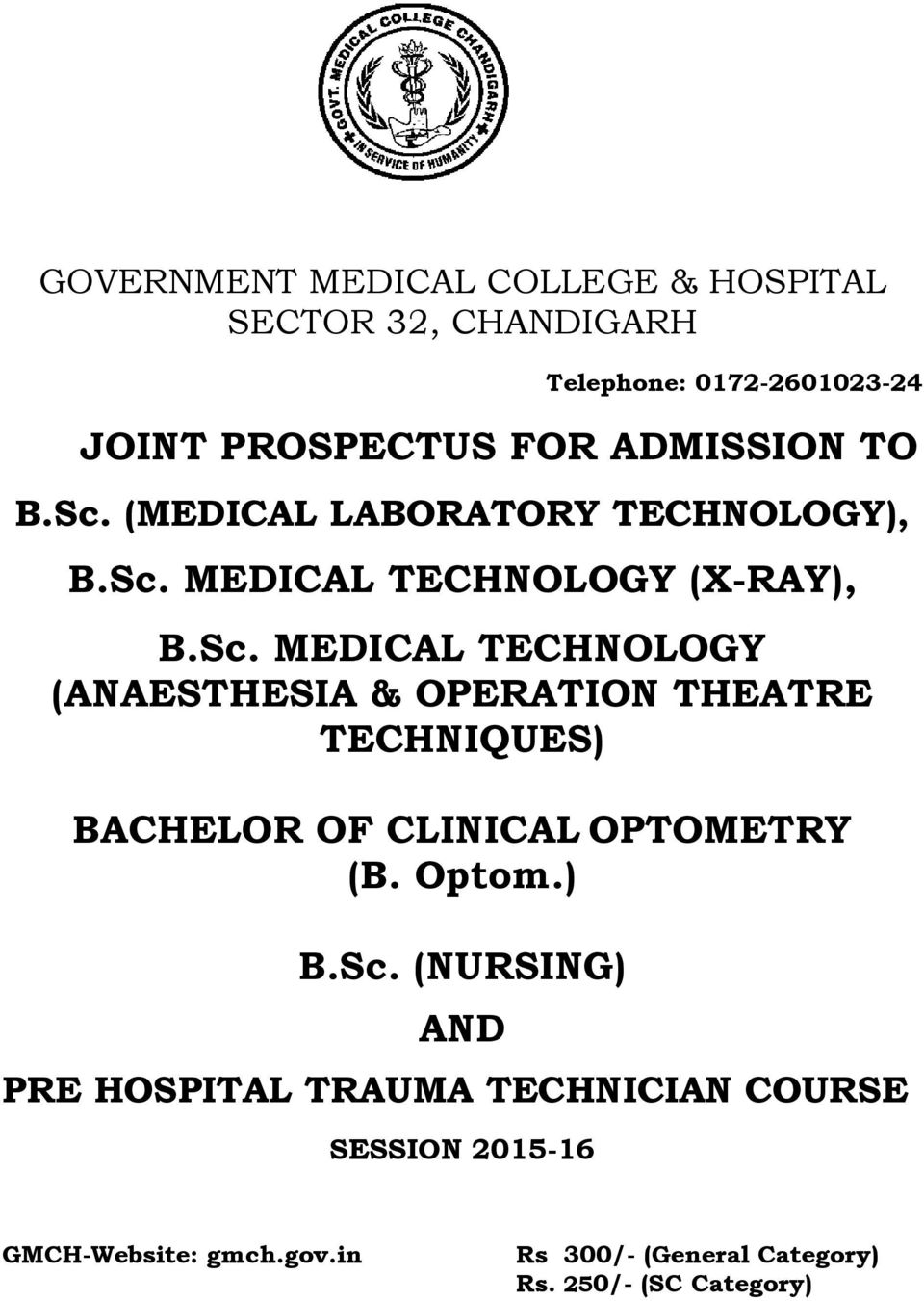 (MEDICAL LABATY TECHNOLOGY), B.Sc.