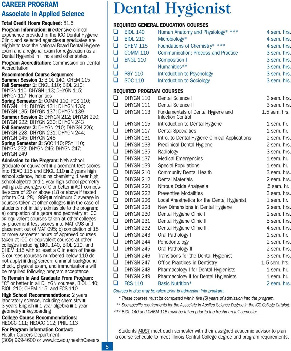 regional exam for registration as a Dental Hygienist in Illinois and other states.
