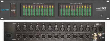 Up to four Deltas can be combined in your system for a maximum of 32 analog and four stereo S/PDIF inputs and outputs.