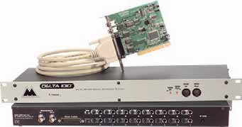 80 Computer Audio Interfaces - PCI RME HDSP9632 RME HDSP9652 #RMHDSP9632 499 95 The Hammerfall DSP 9632 is a high-resolution PCI au- est 192kHz A/D and D/A converters, unbalanced stereo analog inputs