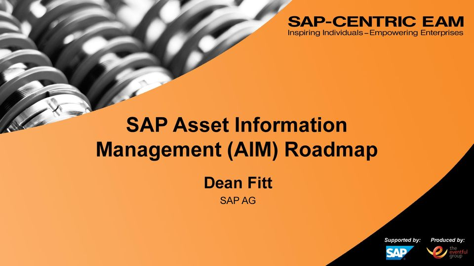 Fitt SAP AG Supported by: