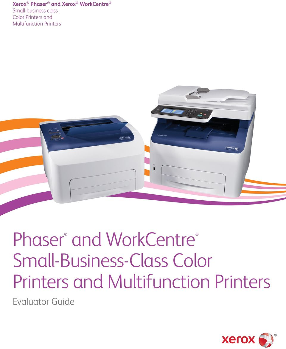 and WorkCentre Small-Business-Class Color