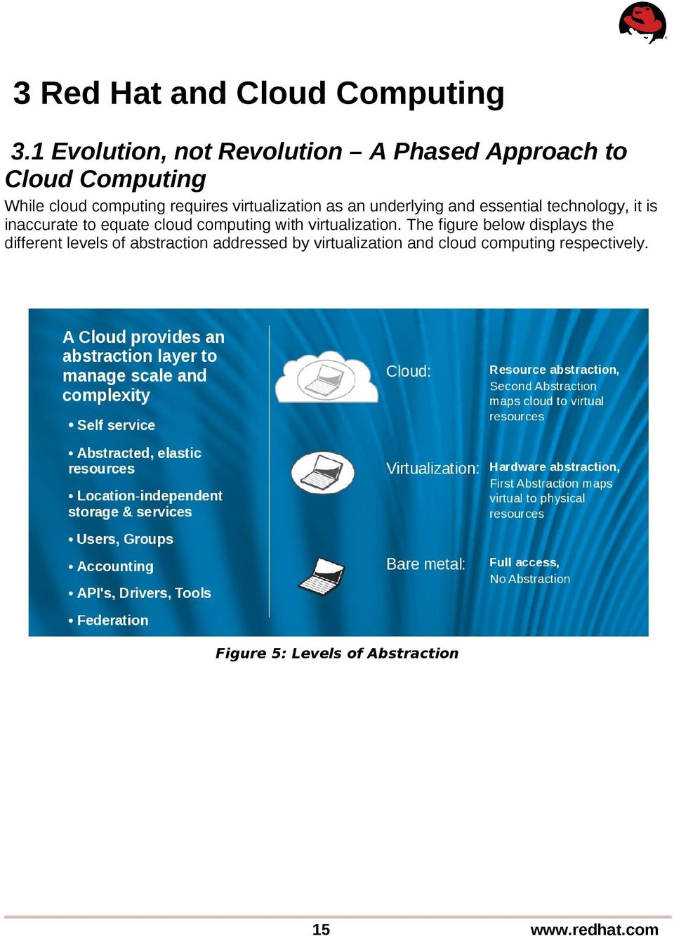 virtualization as an underlying and essential technology, it is inaccurate to equate cloud computing
