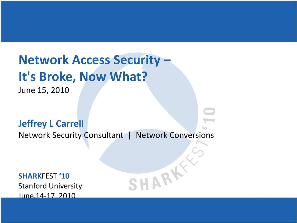 Network Security Consultant Network