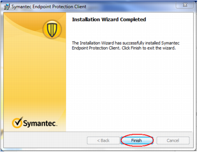 Table 26: Symantec Endpoint Protection Installation 10. Figure 51: File Reputation Data Submission Screen Do not select the File Reputation Data Submission check box. Click Next.