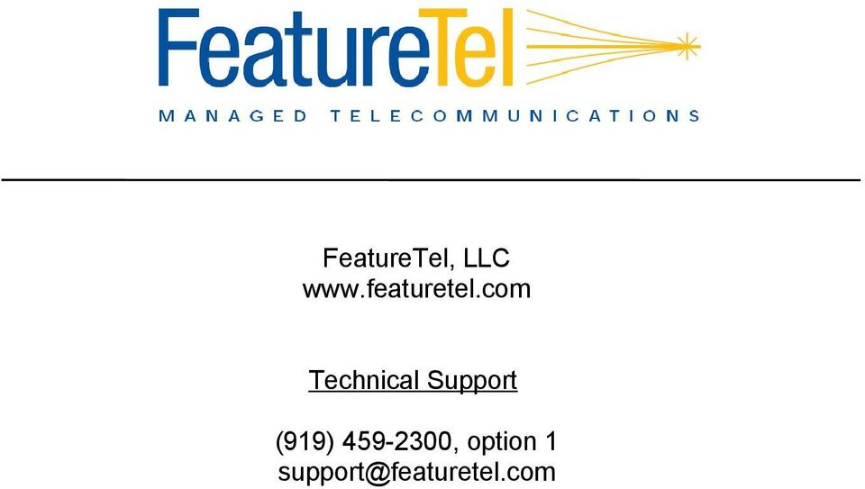 com Technical Support