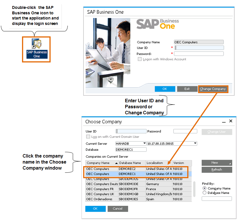 2 The Personality of SAP Business One performances. We are sure that you ll find SAP Business One easy to use with its intuitive navigation and familiar look and feel.
