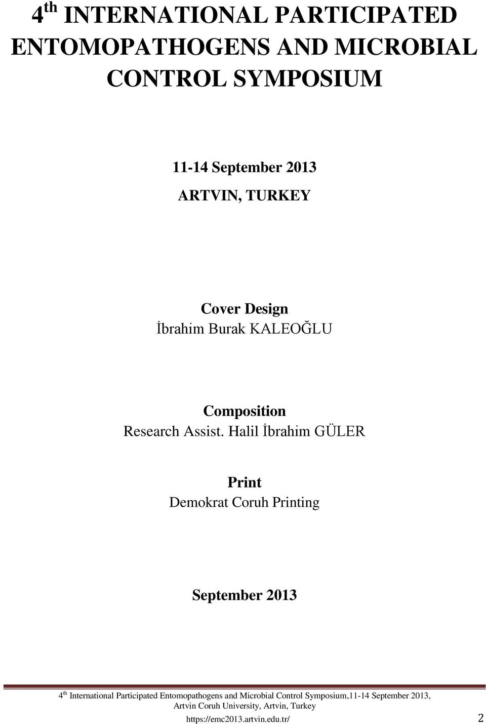Burak KALEOĞLU Composition Research Assist.