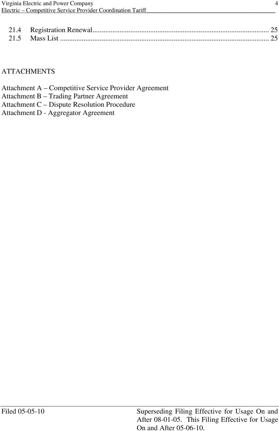 Provider Agreement Attachment B Trading Partner Agreement