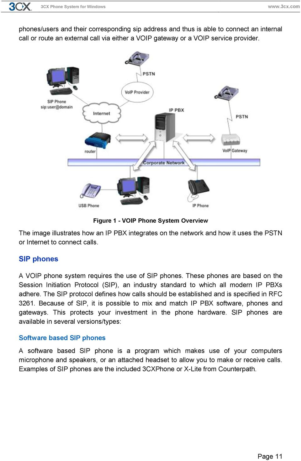 SIP phones A VOIP phone system requires the use of SIP phones. These phones are based on the Session Initiation Protocol (SIP), an industry standard to which all modern IP PBXs adhere.