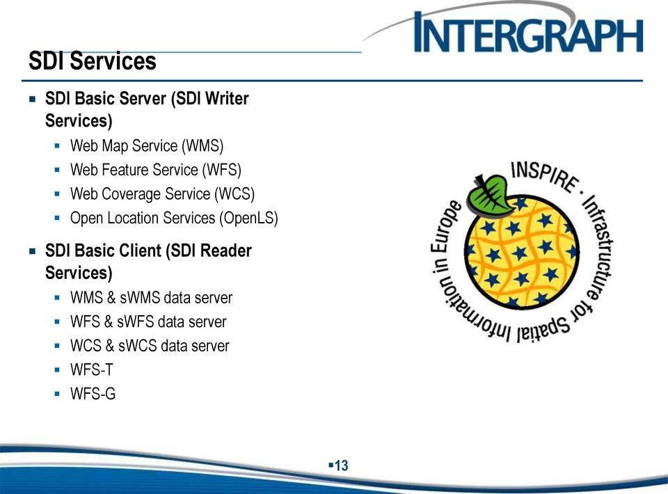 Location Services (OpenLS) SDI Basic Client (SDI Reader Services) WMS