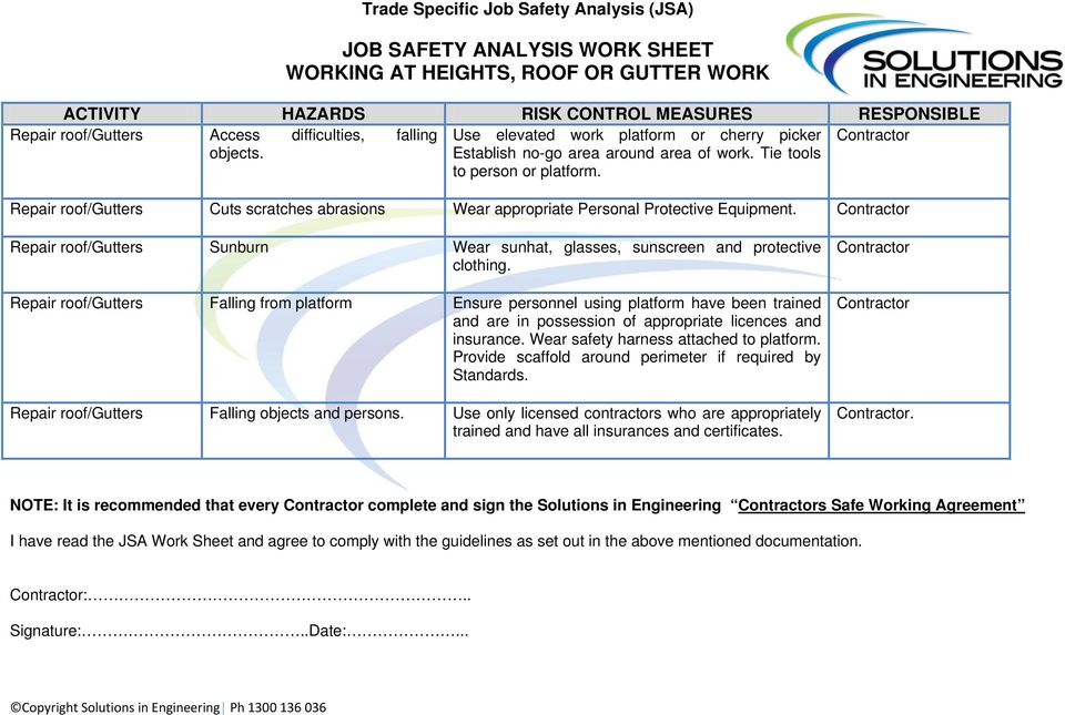 lock out tag out form