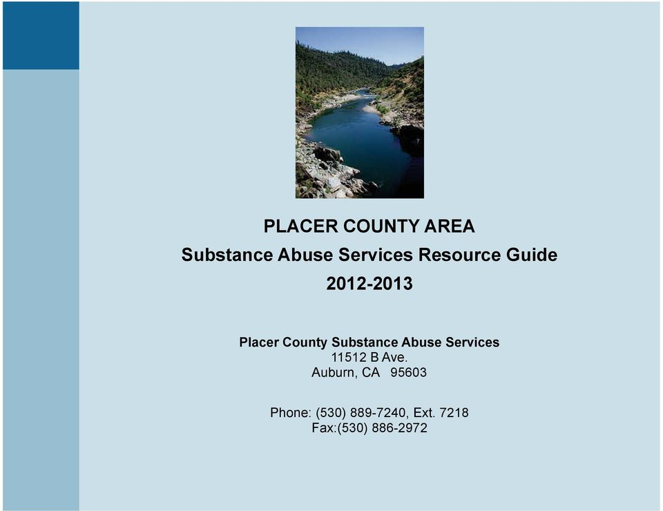 County Substance Abuse Services 11512 B