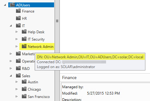 Using LDAP user groups This