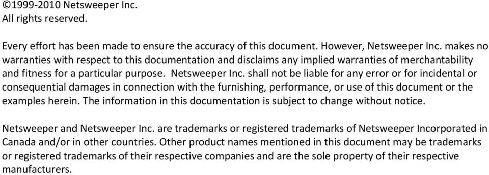 shall not be liable for any error or for incidental or consequential damages in connection with the furnishing, performance, or use of this document or the examples herein.