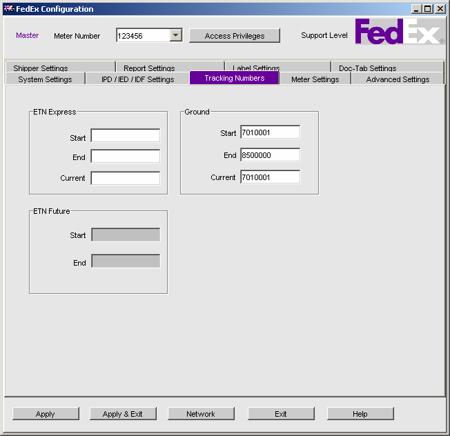 Chapter One: Setting Up FSMS IPD/IDF Settings IPD (International Priority Direct Distribution) and IDF (International Direct Distribution Freight) are contract services offered by FedEx to customers