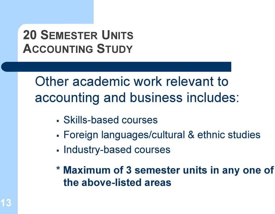 Foreign languages/cultural & ethnic studies Industry-based