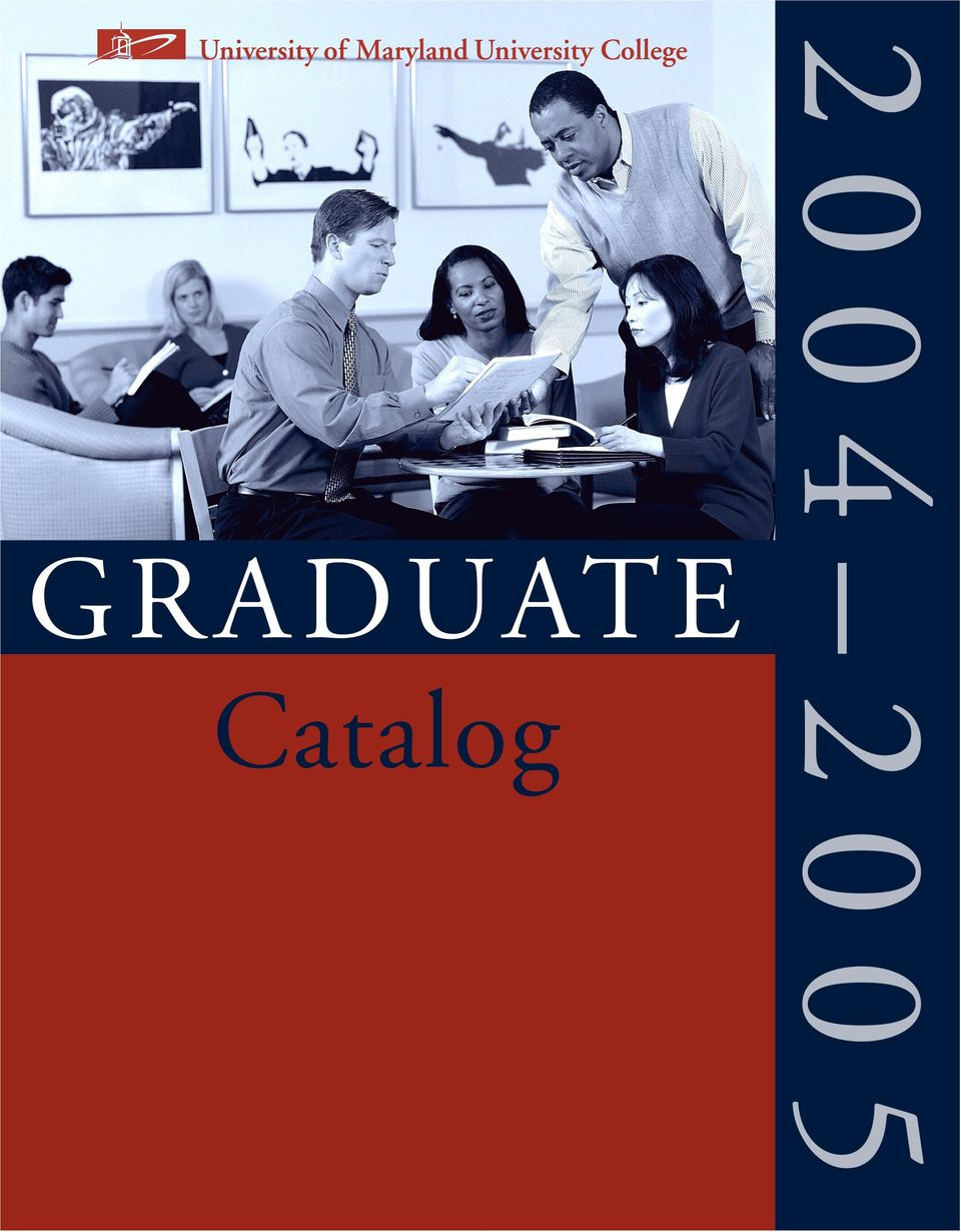 University Boulevard East Adelphi, MD 20783-8003 USA Catalog