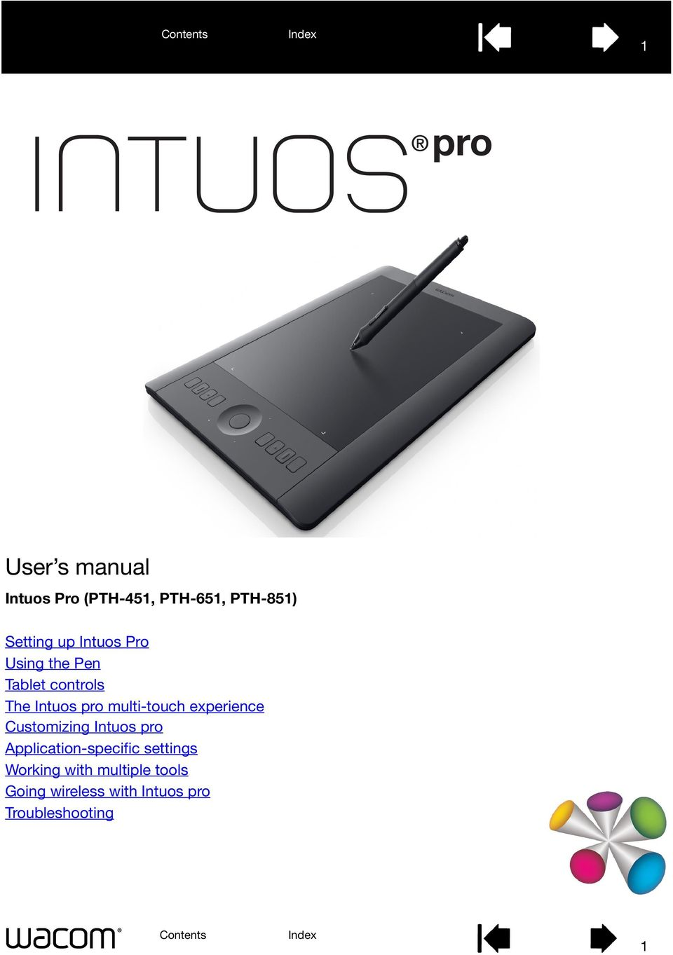 experience Customizing Intuos pro Application-specific settings
