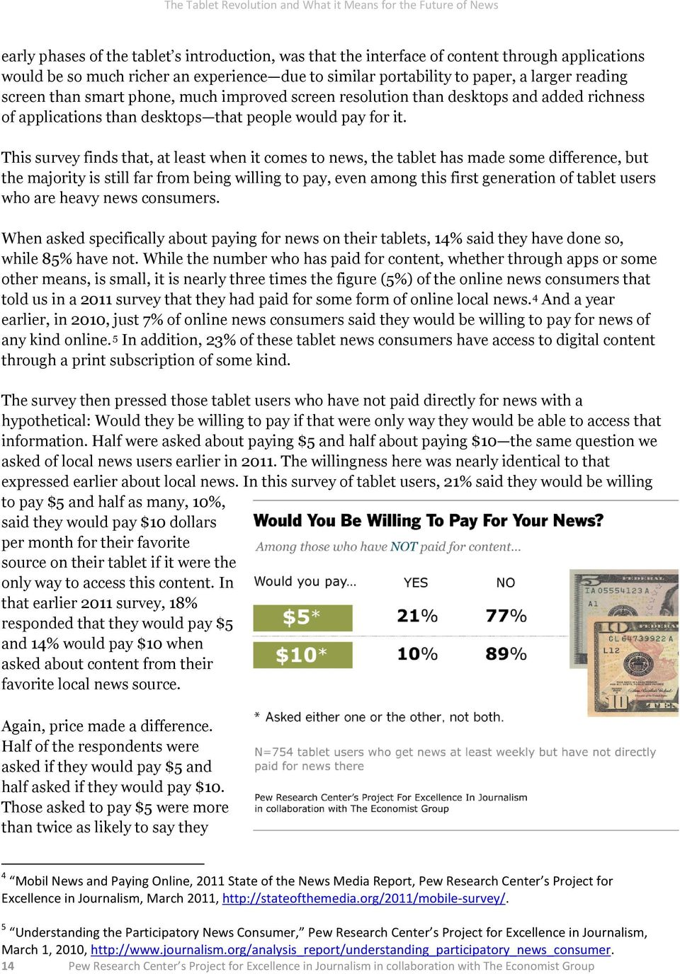This survey finds that, at least when it comes to news, the tablet has made some difference, but the majority is still far from being willing to pay, even among this first generation of tablet users