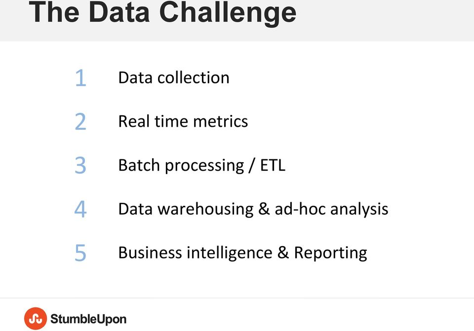 ETL 4 Data warehousing & ad-hoc